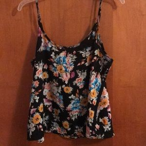 COLORFUL FLORAL TANK TOP